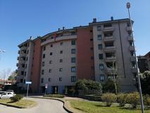 Bilocale piano alto terrazzino e box zona Libertà in Affitto